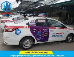 Quảng cáo trên taxi Group - tại Hà Nội
